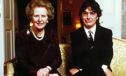 Tom Hibbert and maggie thatcher