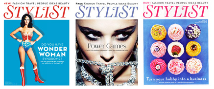three stylist covers