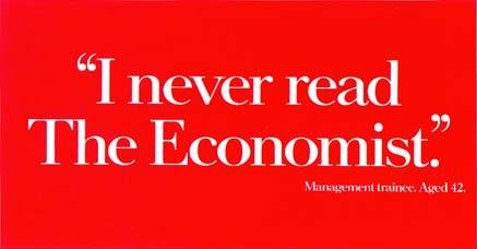 Economist poster