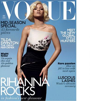 Rihanna vogue nov 2011