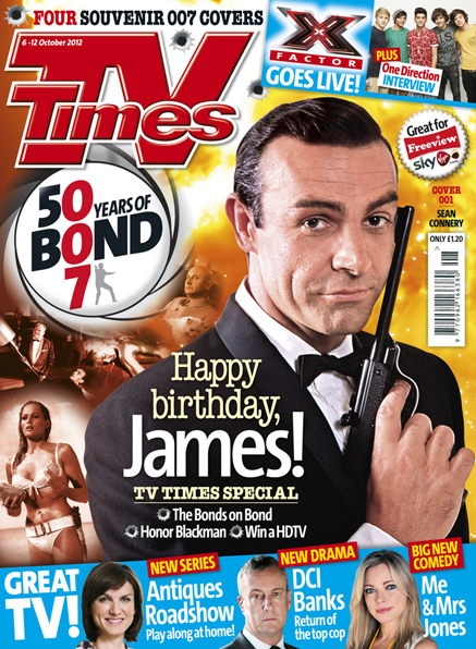 tv times james bond