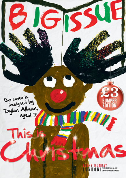 ... Issue crowdsource their Christmas cover. Here's why it really works